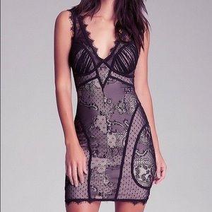 Bebe Sexy Lace Bodycon Dress